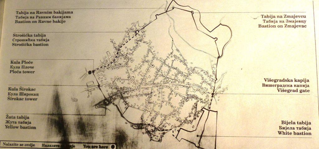 План крепости Вратник. Фото: Елена Арсениевич, CC BY-SA 3.0