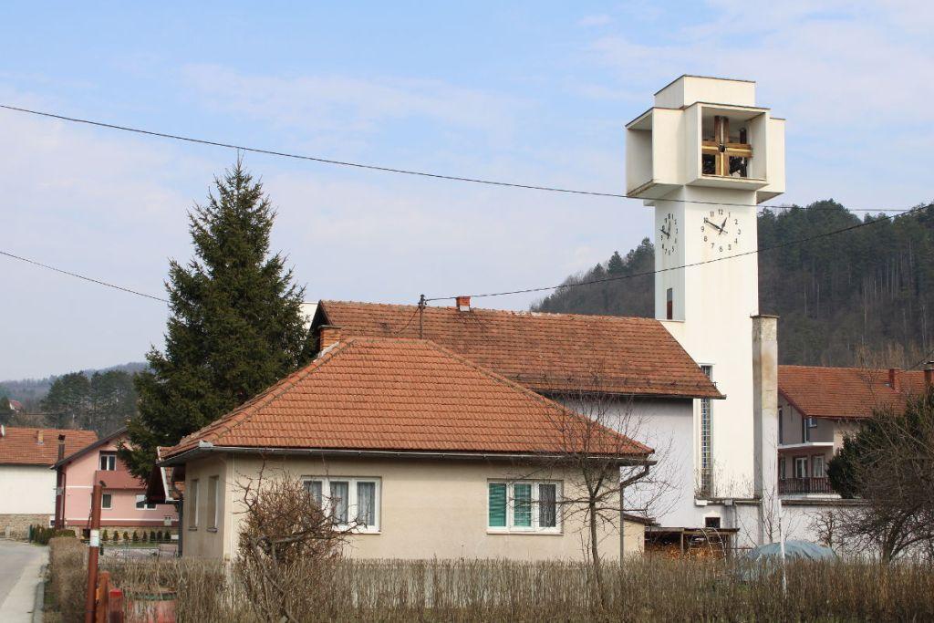 Маглайская католическая церковь. Фото: Елена Арсениевич, CC BY-SA 3.0
