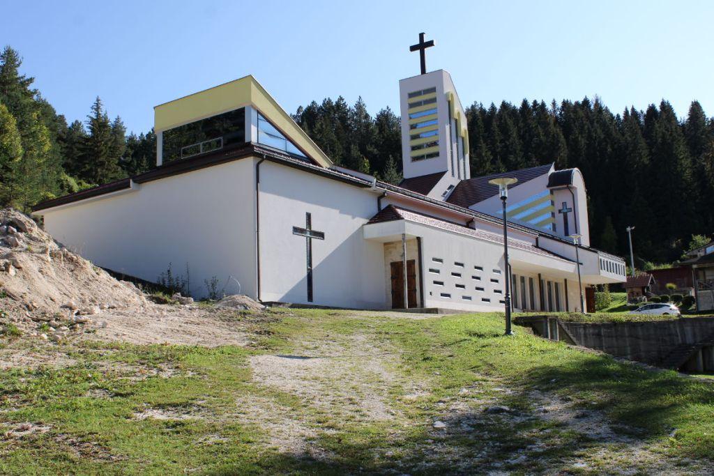 Католическая церковь в Гламоче. Фото: Елена Арсениевич, CC BY-SA 3.0