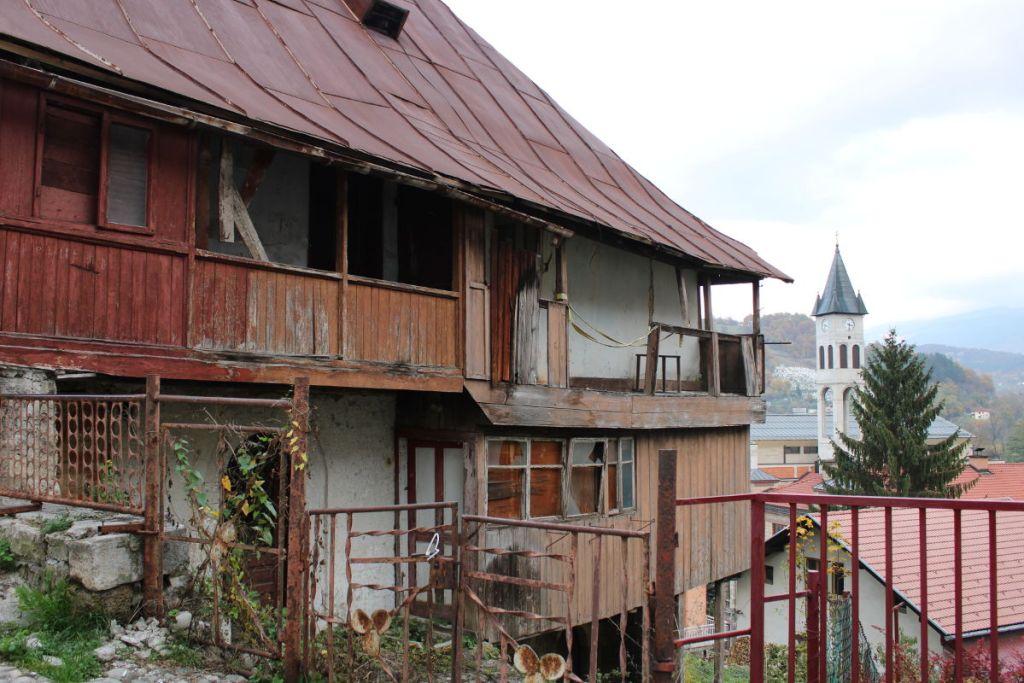 Старинный дом в Вароши в Яйце. Фото: Елена Арсениевич, CC BY-SA 3.0