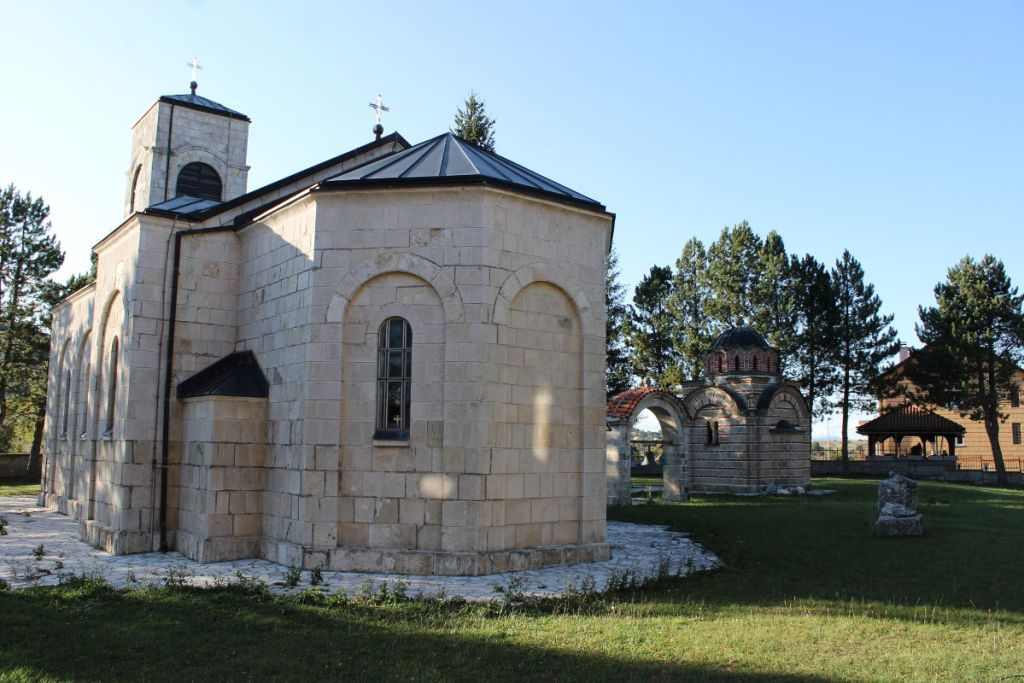 Монастырь Веселине. Фото: Елена Арсениевич, CC BY-SA 3.0