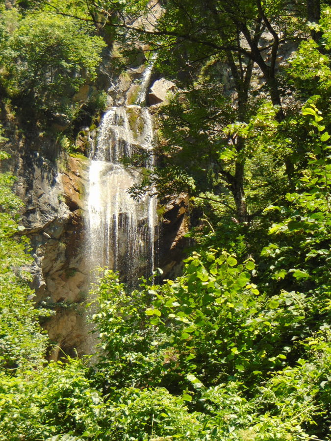 Вид на водопад с площадки для пикников. Фото: Елена Арсениевич, CC BY-SA 3.0