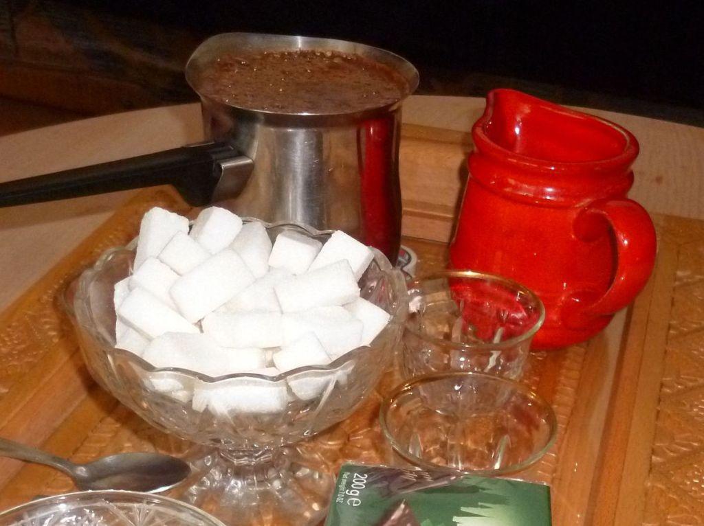 Кофе для гостей. Фото: Елена Арсениевич, CC BY-SA 3.0