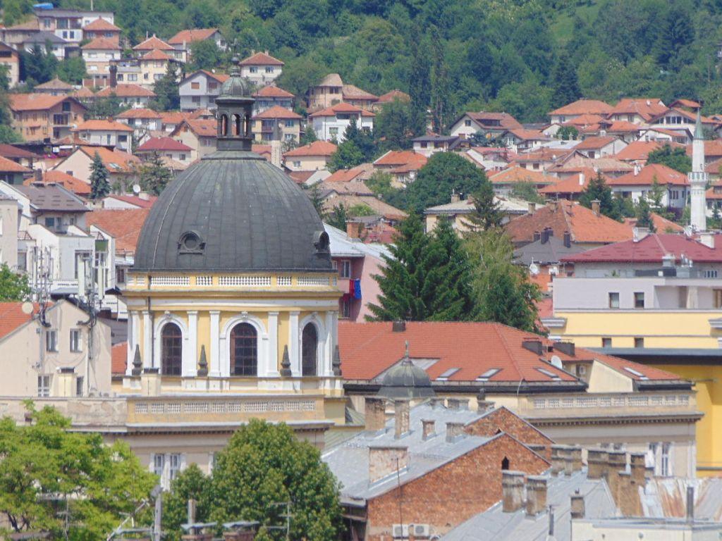 Купол церкви св. Кирилла и Мефодия. Фото: Елена Арсениевич, CC BY-SA 3.0