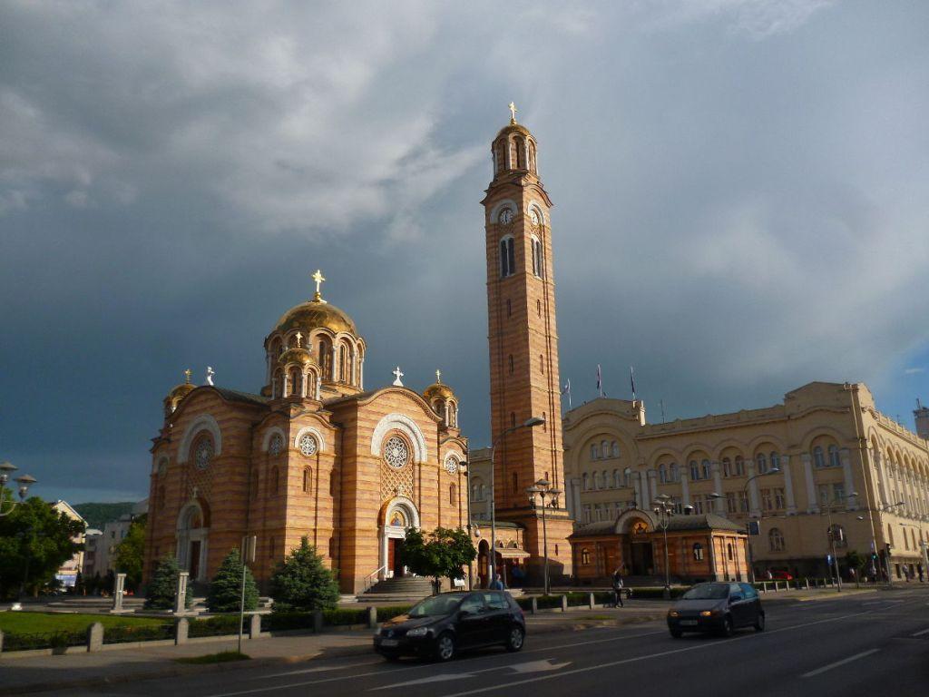 Храм Христа Спасителя в Баня Луке. Фото: Елена Арсениевич, CC BY-SA 3.0