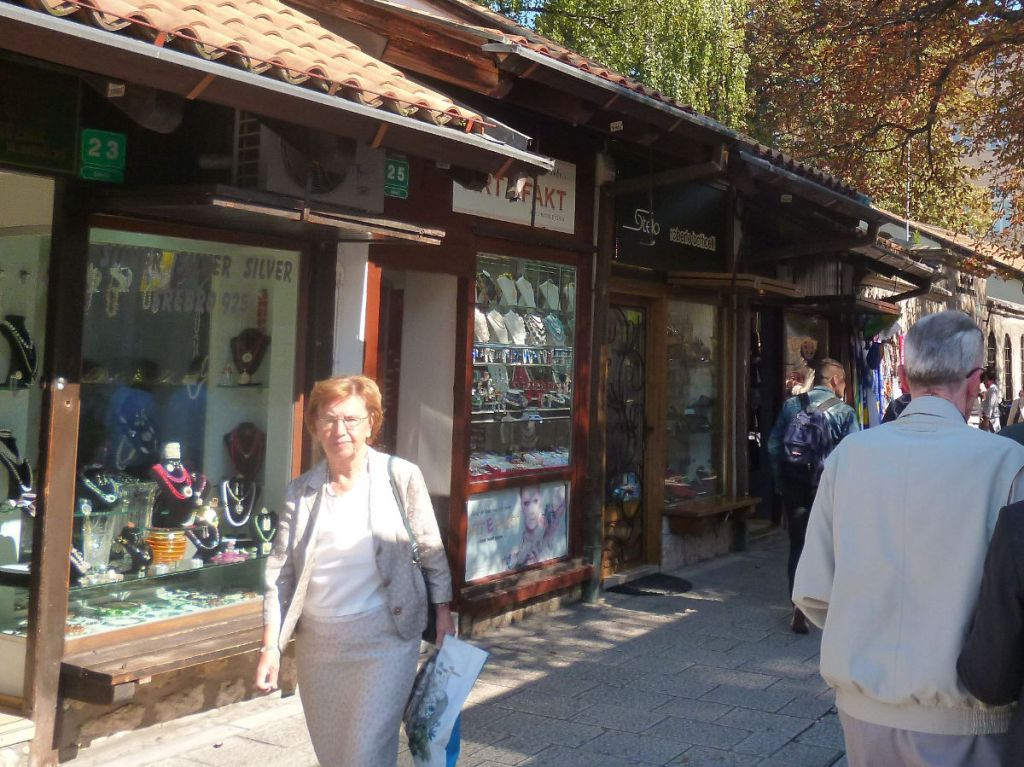 Сараево, улица Сарачи. Фото: Елена Арсениевич, CC BY-SA 3.0