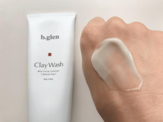 ビーグレンクレイ洗顔