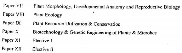M.Sc Botany Syllabus 2021 PDF By Rajasthan University