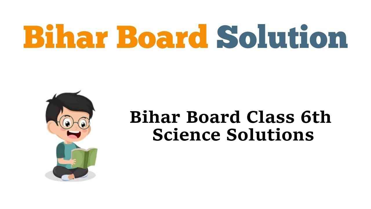Bihar Board Class 6th Science Solutions विज्ञान
