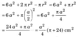 Bihar Board Class 10 Maths Solutions Chapter 13 पृष्ठीय क्षेत्रफल एवं आयतन Ex 13.1 Q5.1