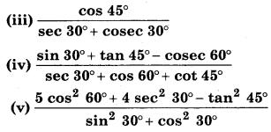 Bihar Board Class 10 Maths Solutions Chapter 8 त्रिकोणमिति का परिचय Ex 8.2 Q1