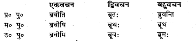 Bihar Board Class 7 Sanskrit व्याकरण धातु-रूपाणि 42