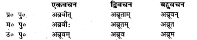 Bihar Board Class 7 Sanskrit व्याकरण धातु-रूपाणि 45