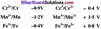 BIhar Board Class 12 Chemistry Chapter 8 d एवं f-ब्लॉक के तत्त्व img 6
