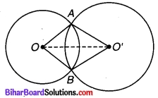 Bihar Board Class 9 Maths Solutions Chapter 10 वृत्त Ex 10.6 Q 1