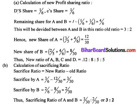 Bihar Board 12th Accountancy Model Question Paper 4 in English Medium Q8