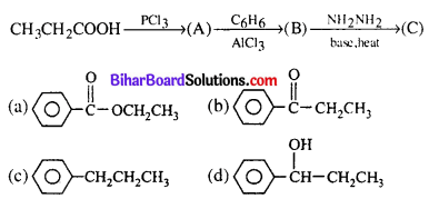 Bihar Board 12th Chemistry Objective Answers Chapter 12 Aldehydes, Ketones and Carboxylic Acids 16