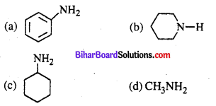 Bihar Board 12th Chemistry Objective Answers Chapter 13 ऐमीन 6