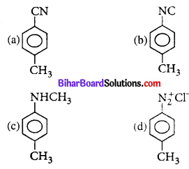 Bihar Board 12th Chemistry Objective Answers Chapter 13 Amines 7