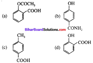 Bihar Board 12th Chemistry Objective Answers Chapter 16 Chemistry in Everyday Life 1