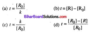 Bihar Board 12th Chemistry Objective Answers Chapter 4 रासायनिक बलगतिकी 6