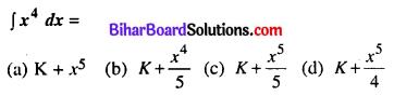 Bihar Board 12th Maths Model Question Paper 1 in Hindi Medium MCQ Q26