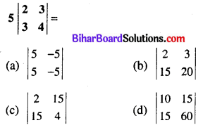 Bihar Board 12th Maths Model Question Paper 1 in Hindi Medium MCQ Q9