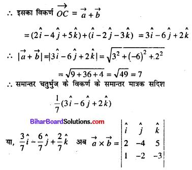 Bihar Board 12th Maths Model Question Paper 3 in Hindi SAQ Q17