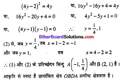 Bihar Board 12th Maths Model Question Paper 3 in Hindi SAQ Q29