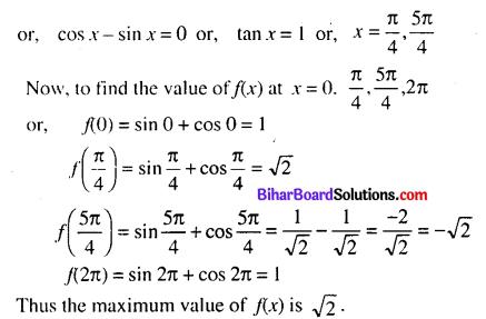 Bihar Board 12th Maths Model Question Paper 4 in English Medium - 26