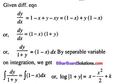 Bihar Board 12th Maths Model Question Paper 4 in English Medium - 30