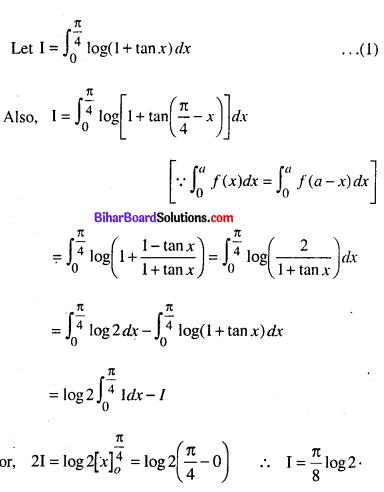 Bihar Board 12th Maths Model Question Paper 4 in English Medium - 40