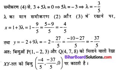 Bihar Board 12th Maths Model Question Paper 4 in Hindi SAQ Q19.1