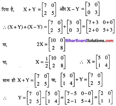 Bihar Board 12th Maths Model Question Paper 4 in Hindi SAQ Q23