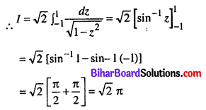 Bihar Board 12th Maths Model Question Paper 5 in English Medium SAQ Q29.1