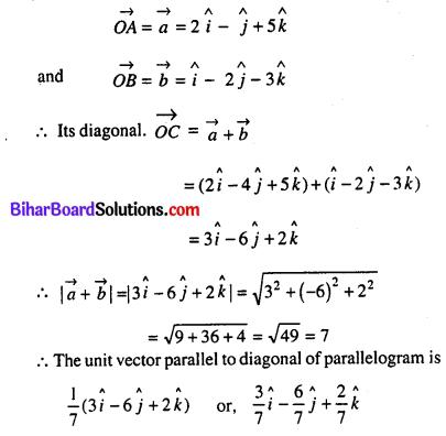 Bihar Board 12th Maths Model Question Paper 5 in English Medium SAQ Q30