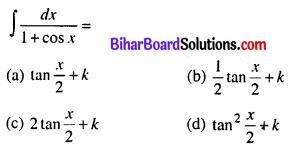 Bihar Board 12th Maths Model Question Paper 5 in Hindi MCQ Q27