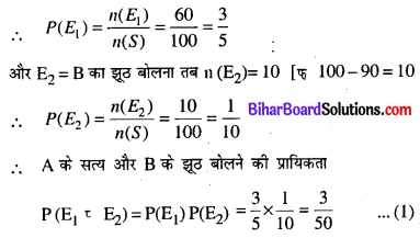 Bihar Board 12th Maths Model Question Paper 5 in Hindi SAQ Q22