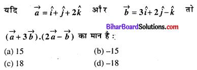 Bihar Board 12th Maths Objective Answers Chapter 10 सदिश बीजगणित Q54