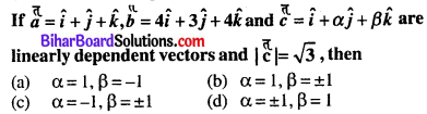 Bihar Board 12th Maths Objective Answers Chapter 10 Vector Algebra Q8