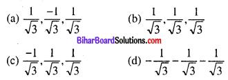 Bihar Board 12th Maths Objective Answers Chapter 11 त्रि-विमीय ज्यामिति Q67