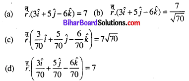 Bihar Board 12th Maths Objective Answers Chapter 11 Three Dimensional Geometry Q47