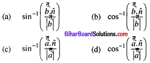 Bihar Board 12th Maths Objective Answers Chapter 11 Three Dimensional Geometry Q66