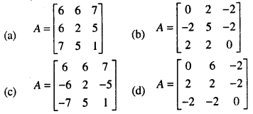Bihar Board 12th Maths Objective Answers Chapter 3 Matrices Q25