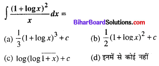 Bihar Board 12th Maths Objective Answers Chapter 7 समाकलन Q10