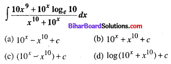 Bihar Board 12th Maths Objective Answers Chapter 7 समाकलन Q22