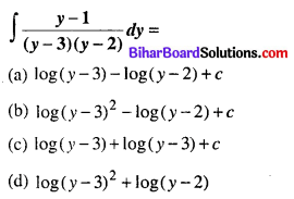 Bihar Board 12th Maths Objective Answers Chapter 7 समाकलन Q28