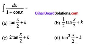 Bihar Board 12th Maths Objective Answers Chapter 7 समाकलन Q43