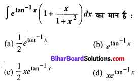 Bihar Board 12th Maths Objective Answers Chapter 7 समाकलन Q48