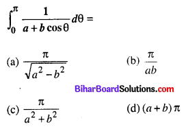 Bihar Board 12th Maths Objective Answers Chapter 7 समाकलन Q6